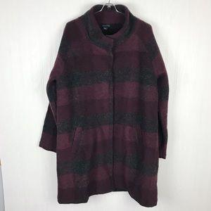 Paraphrase wool blend coat